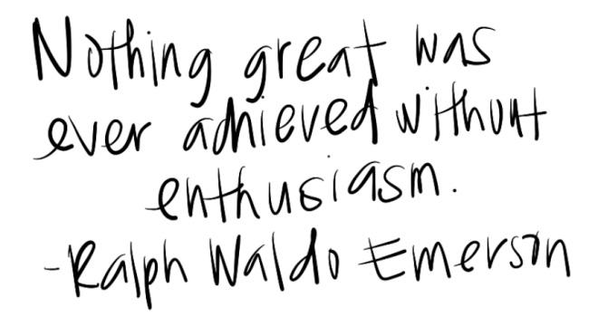 enthusiasm quote ralph waldo emerson