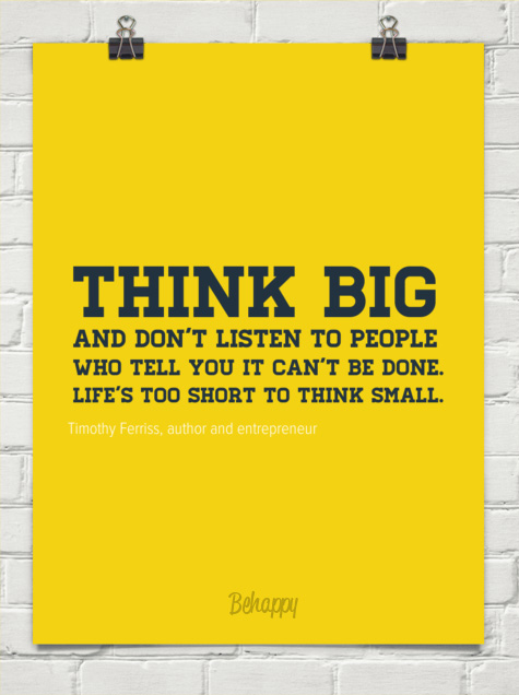 think big quote