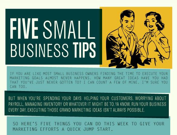 5 Small Business Marketing Tips